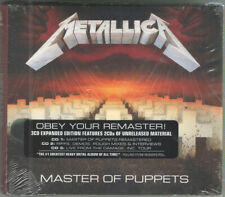 Metallica - Master of Puppets 3 x CD - SEALED Heavy Thrash Metal Album