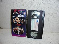 Star Trek The Next Generation : Q Who ? Episode 42 VHS Video Out Of Print