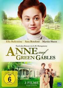 *** Anne auf Green Gables - 3 Filme Gesamt - Edition (2018) - DVD - NEU&OVP ***
