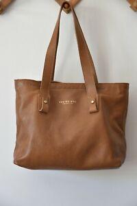 The Bridge Brown leather Italian handbag/shoulder bag
