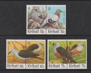 Kiribati - 1997, Birds set - MNH - SG 542/7