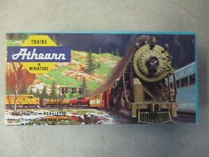 VINTAGE ATHEARN TRAINS IN MINIATURE #1353 40 FT FLAT WITH BOAT G M & O KIT PARTS