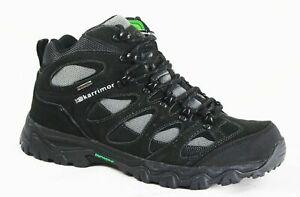 Karrimor Men Hiking Walking Boots Jura Mid Weathertite Waterproof  Black