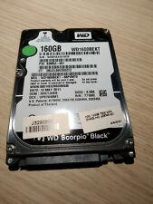 """Disco duro WD de 160GB 7200RPM SATA 2.5"""" : Modelo: WD1600BEKT"""