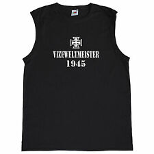 Fun Herren Tank Top Vizeweltmeister 1945 - Germany - Tanktop - F235 - 61-222-0