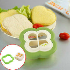 New Clovers-shaped Sandwich Toast Bread Mould Bento Food Maker Sushi Mold Tool