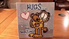 "Garfield ""Hugs"" decorative plaque by Westland Giftware"