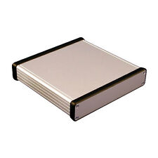 Aluminio instrumento Gabinete Hammond 1455 163x160x30.5 mm proyecto Funda Caja