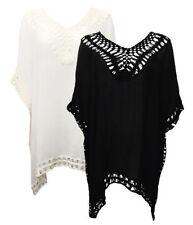 V-Neckline Kimono Sleeve Tops for Women