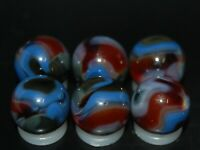 SIX PACK:  Jabo Classic Marbles Collector Set Hard To Find Marbles KEEPERS L-645