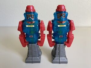 Lot Of 2 Vintage Gobots Transforming Robots Change From Robot Into Water Gun