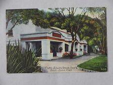 Vintage Postcard Cafe Alum Rock Park San Jose CA Unposted