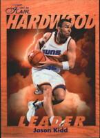 1997-98 Fleer Flair Hardwood Leaders #21 Jason Kidd - NM-MT