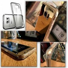 Samsung Galaxy S7 borde genuino rock Cubierta Ultra Resistente Funda Clara Transparente