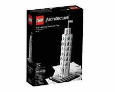 LEGO Architecture The Leaning Tower of Pisa 21015 Brand New (ship from Canada)