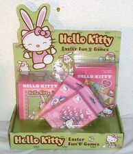 NEW HELLO KITTY EASTER TOY LOT GIFT BASKET SUPPLIES EGG HUNT TOYS