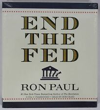Ron Paul END THE FED 6 CD Audiobook (2009, CD, Unabridged) NEW