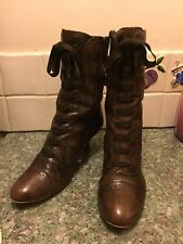 Womens Clarks Boots Size 5.5