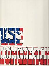 ☆* USS LONG BEACH CGN-9 VIETNAM DEPLOYMENT CRUISE BOOK YEAR LOG 1968-69 NAVY *☆