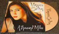 VANESSA CARLTON-A THOUSAND MILES-2002 FRENCH CD-CARD CASE-TWILIGHT (LIVE)-MINT