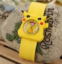 1pcs Pokemon anime 3D children silicone Watch Bracelet Wristwatches kids toy P1