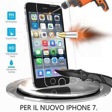 PELLICOLA PROTETTIVA x APPLE IPHONE 7 VETRO TEMPERATO PROTEZIONE TEMPERED GLASS