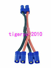 EC3 1 Female to 2 Male  Y Harness Parallel cable for RC Power