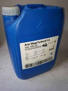 20 ltr. ARAL MegaTurboral LA 10W-40 Motoröl für LKW