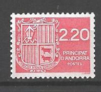 Andorra Francese 1988 Yvert n° 366 nuovo 1° scelta