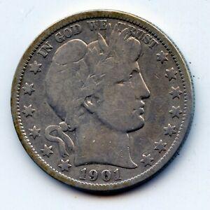 1901-o Barber half (SEE PROMO)
