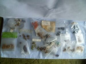 LARGE SELECTION OF PACKETS OF VINTAGE TROUT FLIES 200+ FLIES DRY WET UNUSED