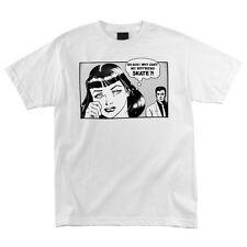 Thrasher Magazine Boyfriend Skateboard Shirt White Large