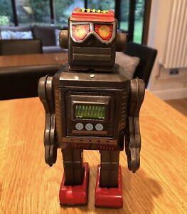 1960s Horikawa (SH) Japan Tin Mr Zerox Robot Fully Working - Early First Version
