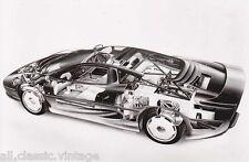 PRESS - FOTO/PHOTO/PICTURE - Original Jaguar XJ220 Press Photo