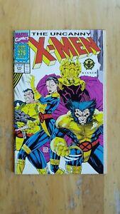 The Uncanny X-Men, #275 (1991, Marvel Comics) High Grade