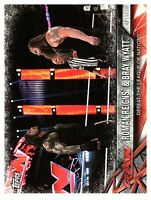2017 TOPPS WWE Road to WRESTLEMANIA #77  ROMAN REIGNS & BRAY WYATT  50 CENT SHIP