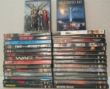 30 Wholesale Dvd Large Lot Action Adventure Fantasy Movie Bulk Bundle Good Mixed