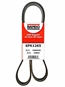 Bando Serpentine Belt Alternator Power Steering 04-05 VW Jetta 1.9L Diesel w/oAC