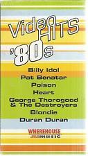 Video Hit 80s Billy Idol Poison Heart Blondie VHS New