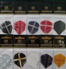 Target Dart Flights - 10 Colour Choices - 1,3,5,10,sets...