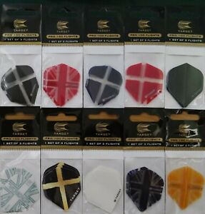 Target Dart Flights - 10 Colour Choices - 1,3,5,10,sets.....