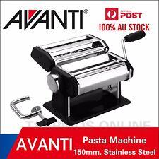 New AVANTI Stainless Steel 150mm Pasta Making Machine RRP $79.95!100%25 Genuine!