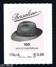 ITALIA 1 FRANCOBOLLO BORSALINO 2017 nuovo**