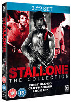 Stallone - Primo Sangue / Cliffhanger / Lock Up Blu-Ray Nuovo (OPTBD1977)