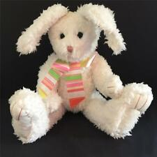 """FLOSSIE PEARL HOPSALOT - Boyds 15"""" White Easter Bunny - BNWT - FREE US SHIP"""