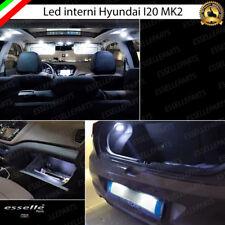 KIT FULL LED INTERNI ABITACOLO HYUNDAI I20 I 20 MK2  KIT COMPLETO 6000K CANBUS