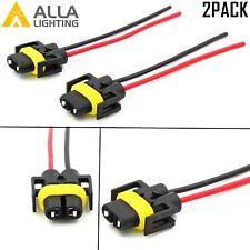 Alla Lighting H11 Socket Female Adapter Wiring Harness Pigtail Plug Connector