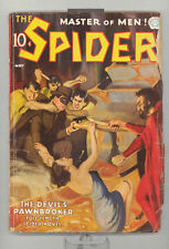 Spider 5/1937 vol. 11 # 4 in G-VG condition GGC (pulp)