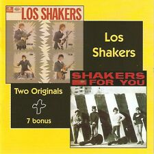 """Los Shakers: """"Los Shakers + Shakers For You"""" (2 on 1CD)"""