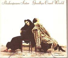 SHAKESPEARS SISTER Goodbye Cruel World LTD UK DIGIP CD